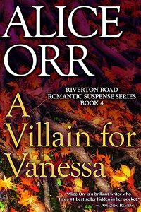 A Villain for Vanessa 200 Image  - Prefer for Guest Blogs & Online Promo